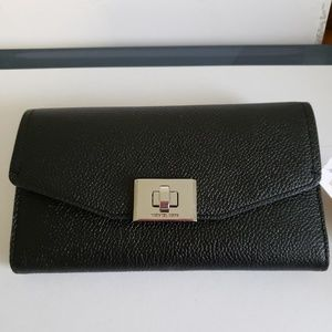 "New Michael Kors ""Cassie"" Trifold Wallet"